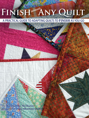 Finish Almost Any Quilt with quilt-as-you-go