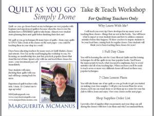 Take-&-Teach Marguerita McManus