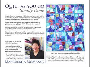 Workshops - Marguerita McManus